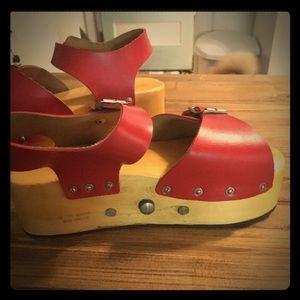 Vintage Wheelie Roller Skate Platform Sandals